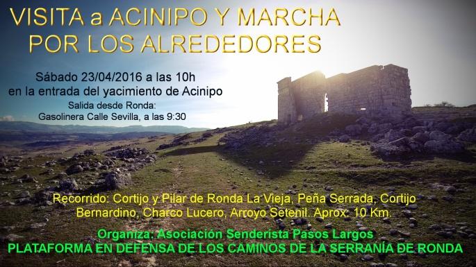 Marcha Acinipo 23 Abril