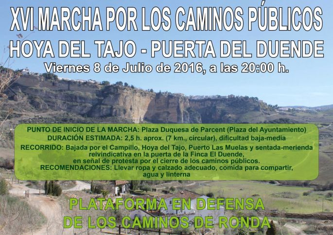 Cartel Marcha 08JUL2016